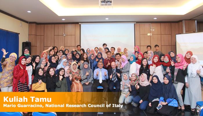 Kuliah Tamu dari National Research Council of Italy, Mario Guarracino