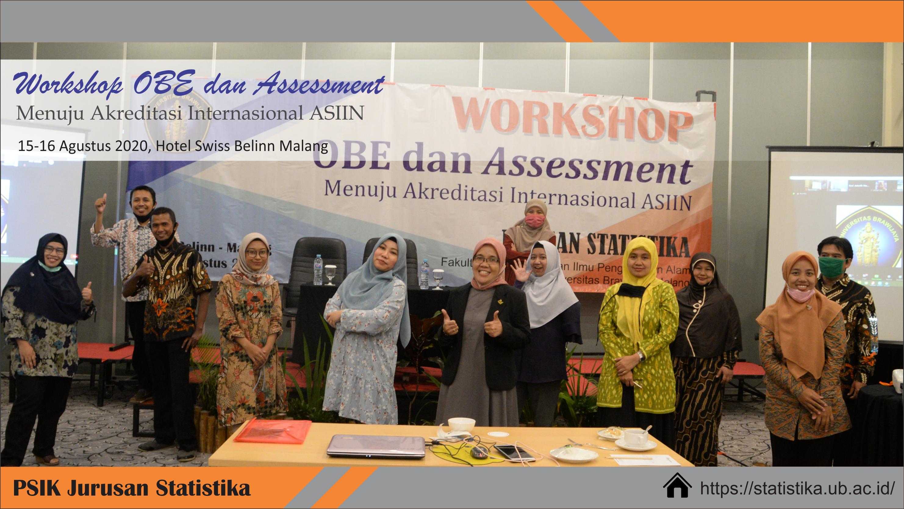 Workshop OBE dan Assessment Menuju Akreditasi Internasional ASIIN