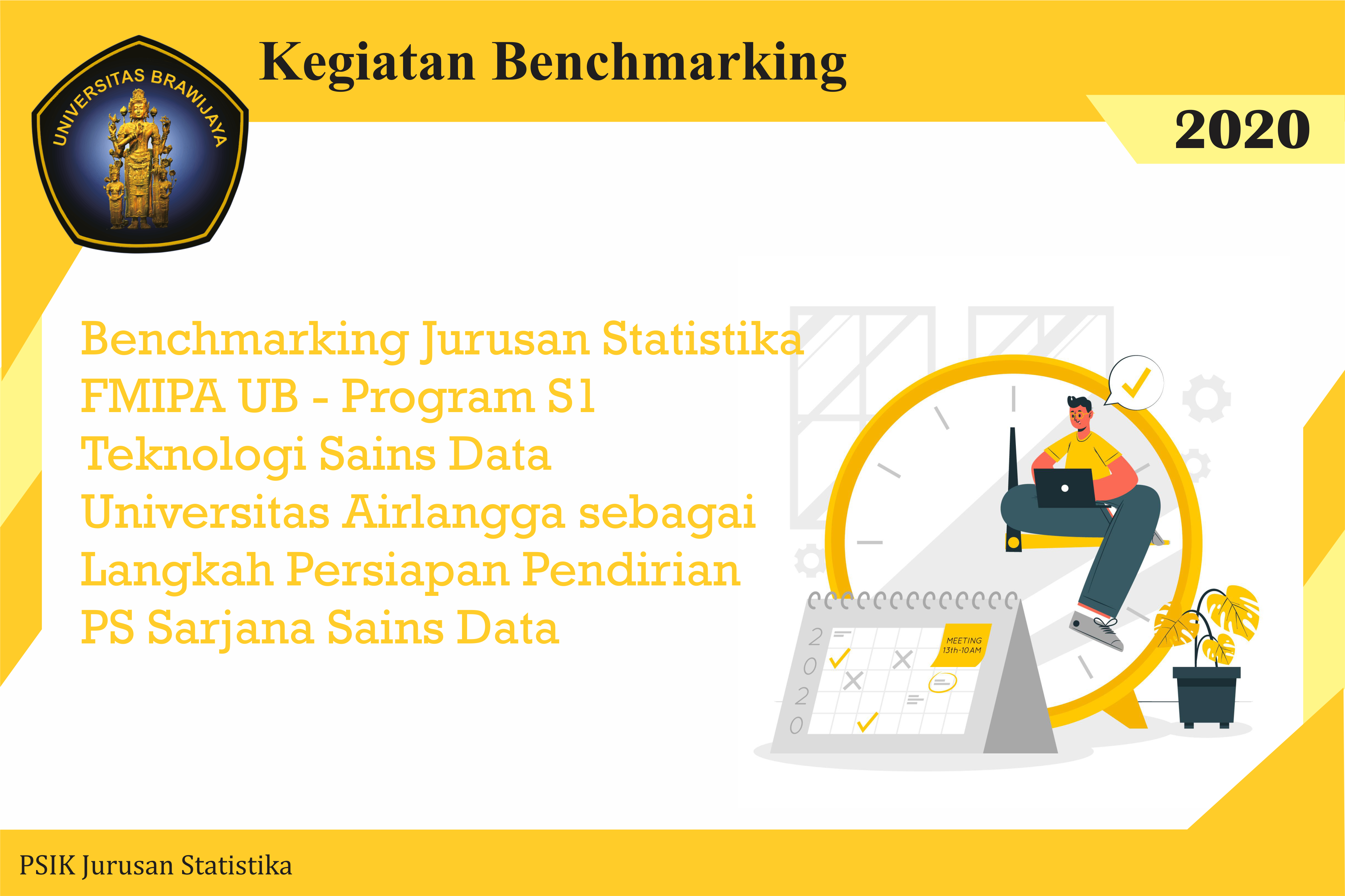 Benchmarking Jurusan Statistika FMIPA UB – Universitas Airlangga